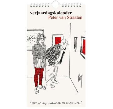 Bekking & Blitz Peter van Straaten Verjaardagskalender
