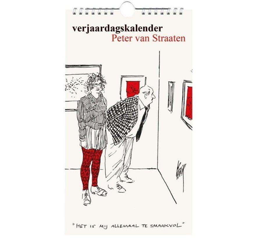 Peter van Straaten Verjaardagskalender