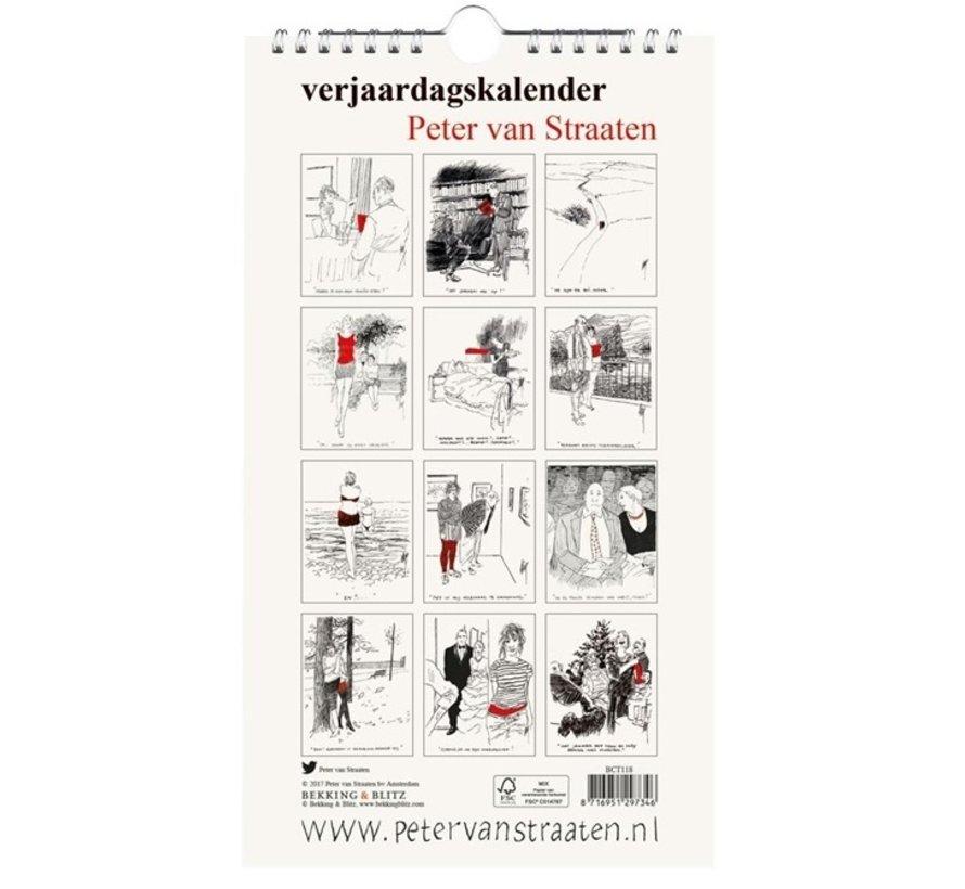 Peter van Straaten Birthday Calendar