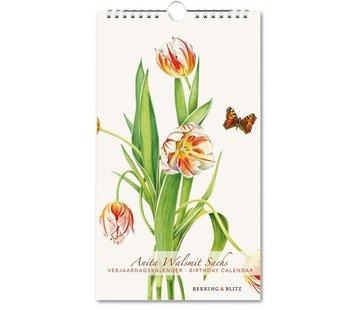 Bekking & Blitz Anita Walsmit Sachs Birthday Calendar