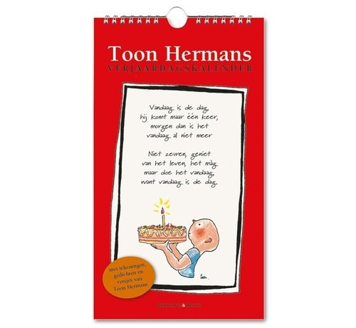 Bekking & Blitz Toon Hermans Verjaardagskalender
