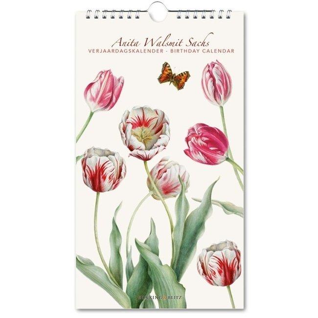 Bekking & Blitz Tulipa, Anita Walsmit Sachs Geburtstagskalender