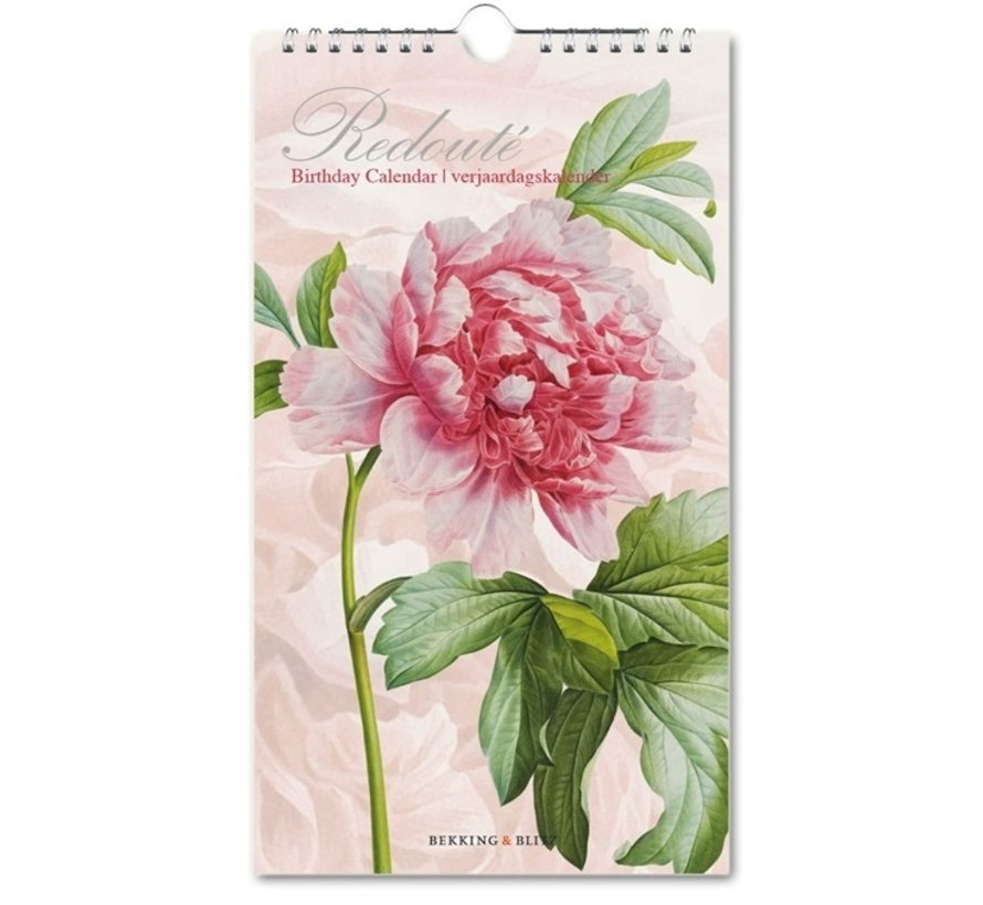 Redoute Birthday Calendar