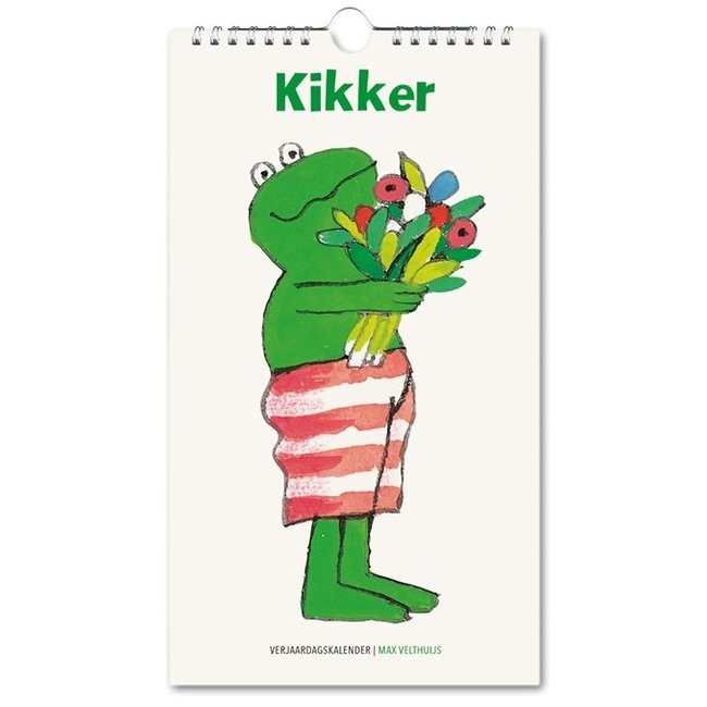 Bekking & Blitz Kikker Verjaardagskalender