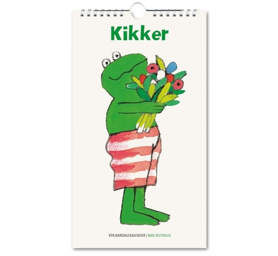 Kikker Birthday Calendar