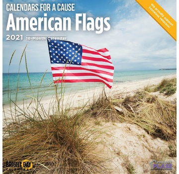 BrightDay American Flags Kalender 2021