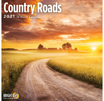 BrightDay Country Roads Calendar 2021