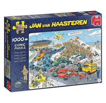 Jumbo Jan van Haasteren - Formule 1 Start 1000 Pieces