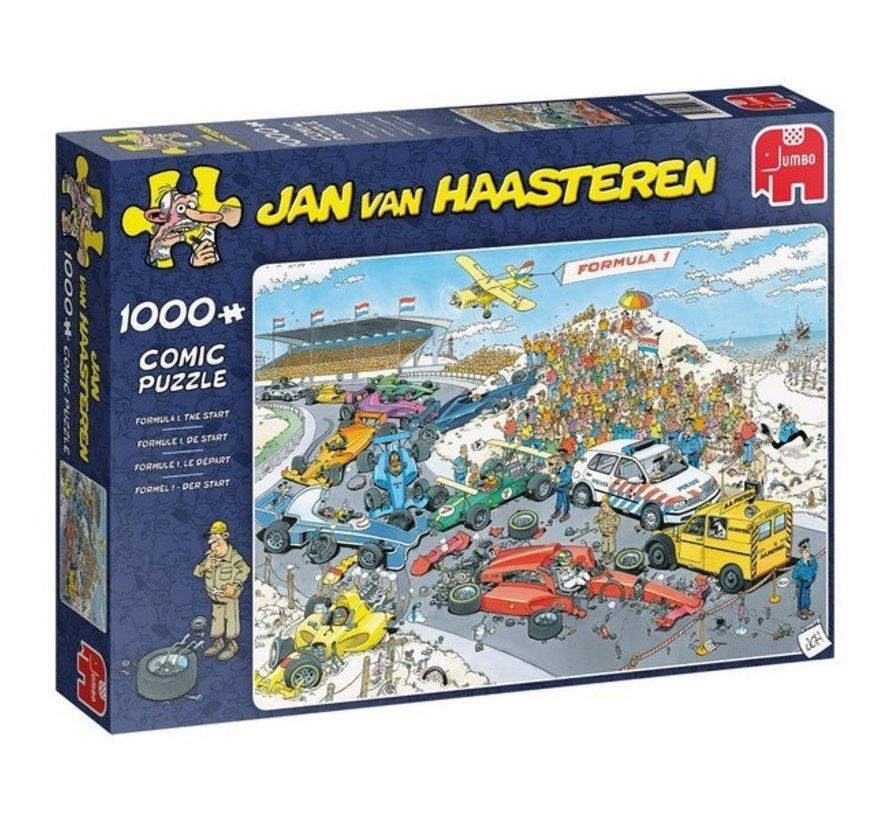 Jan van Haasteren – Formule 1 De Start 1000 Stukjes