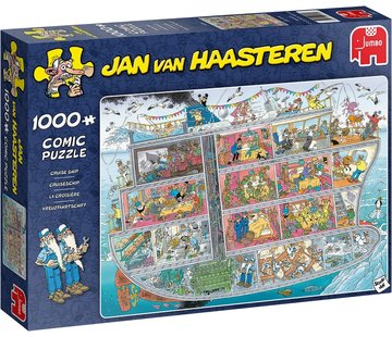 Jumbo Jan van Haasteren – Cruiseship 1000 Pieces