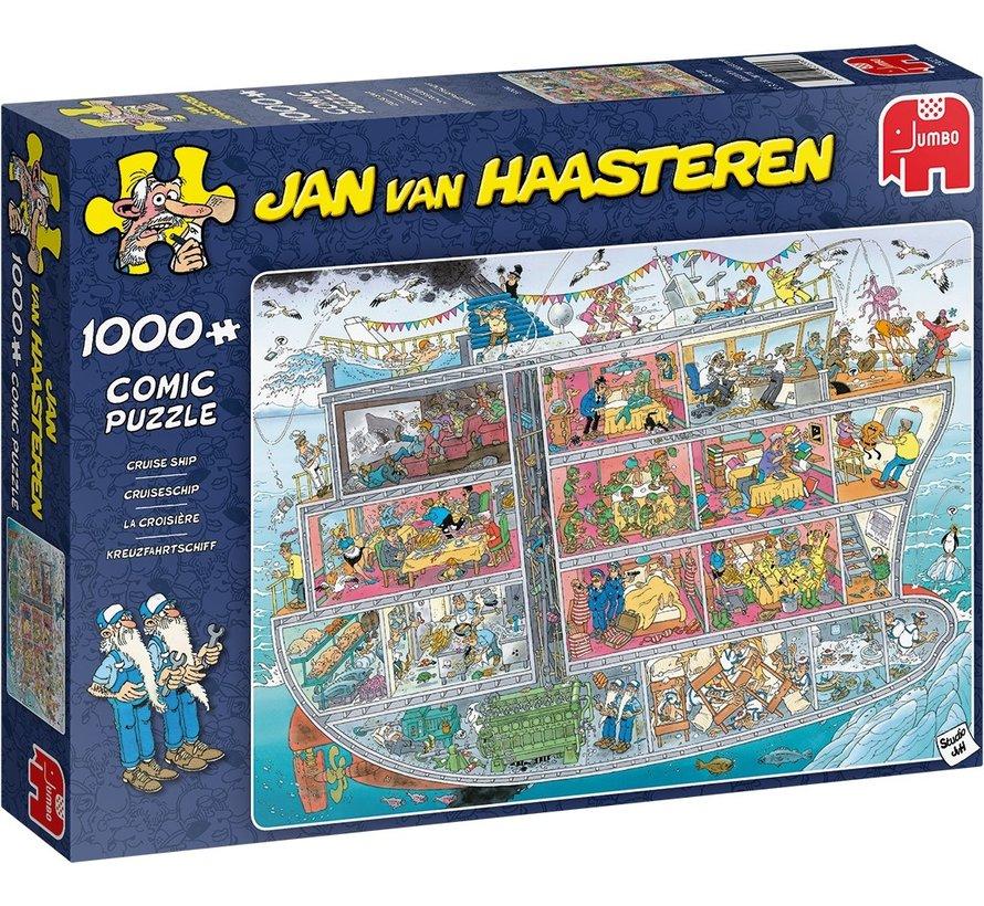 Jan van Haasteren – Cruiseschip 1000 Stukjes