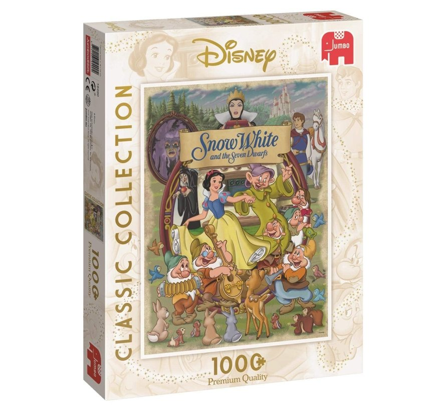 Classic Collection - Disney Sneeuwwitje Puzzel 1000 stukjes