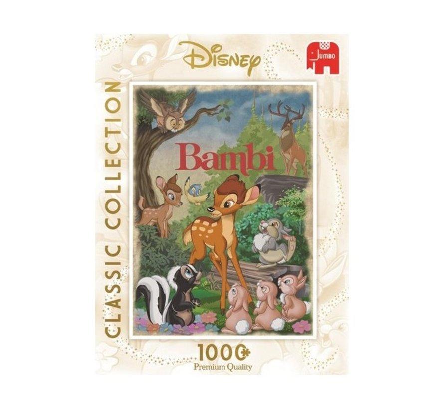Classis Collection - Bambi Puzzel 1000 stukjes