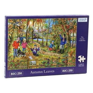 The House of Puzzles Autumn Leaves Puzzle 250 pieces XL