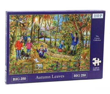The House of Puzzles Autumn Leaves  XL Puzzle 250 pieces