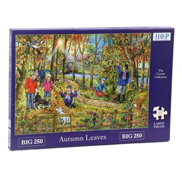 The House of Puzzles Puzzle Autumn Leaves 250 Stück XL