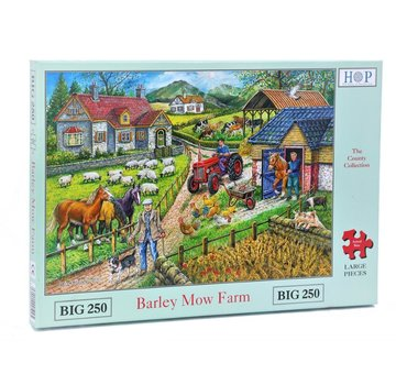 The House of Puzzles Barley Mow ferme Puzzle 250 pièces XL