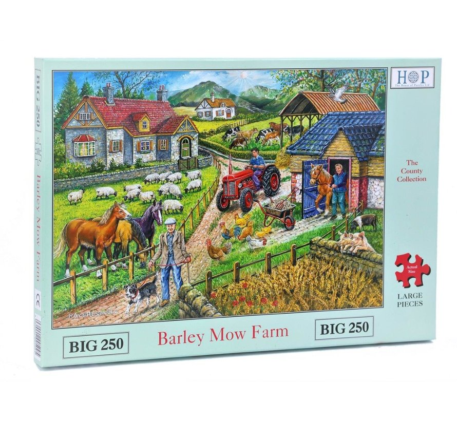 Barley Mow Farm  XL Puzzle 250 pieces