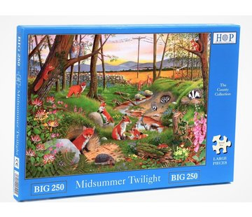 The House of Puzzles Midsummer Twilight  XL Puzzle 250 pieces