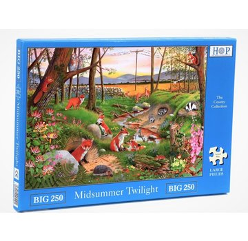 The House of Puzzles Saint-Jean de Twilight Puzzle 250 pièces XL