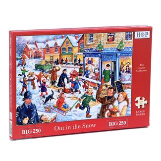 The House of Puzzles Out in the Snow Puzzel 250 XL stukjes