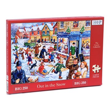 The House of Puzzles Lage im Schnee Puzzle 250 Stück XL