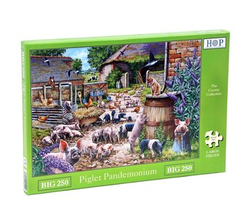 The House of Puzzles Piglet Pandemonium  XL Puzzle 250 pieces
