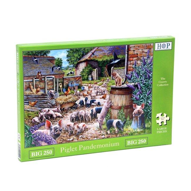 The House of Puzzles Piglet Puzzle Pandemonium 250 XL Stück