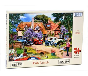 The House of Puzzles Pub Lunch  XL Puzzle 250 pieces