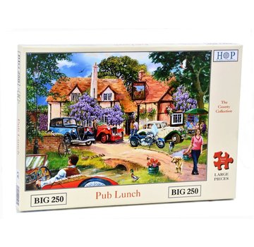 The House of Puzzles Pub Lunch Puzzle 250 pièces XL