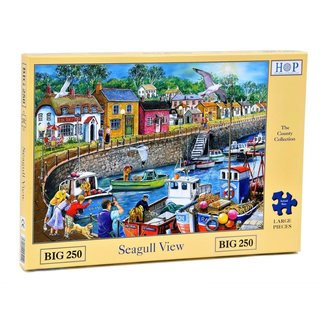 The House of Puzzles Seagull Ansicht Puzzle 250 Stück XL