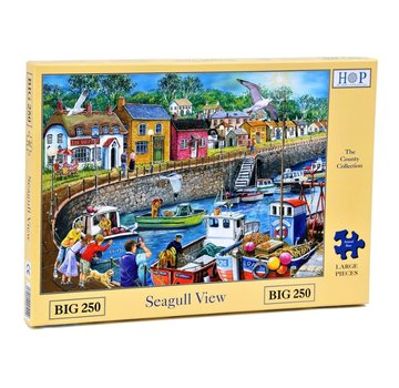 The House of Puzzles Seagull View Puzzel 250 XL stukjes