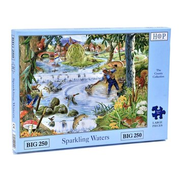 The House of Puzzles Sparkling Waters Puzzle 250 pièces XL