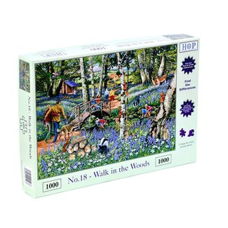 The House of Puzzles No.18 - Walk in the Woods Puzzle 1000 Pieces