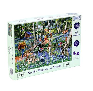 The House of Puzzles No.18 - Walk in the Woods Puzzel 1000 Stukjes