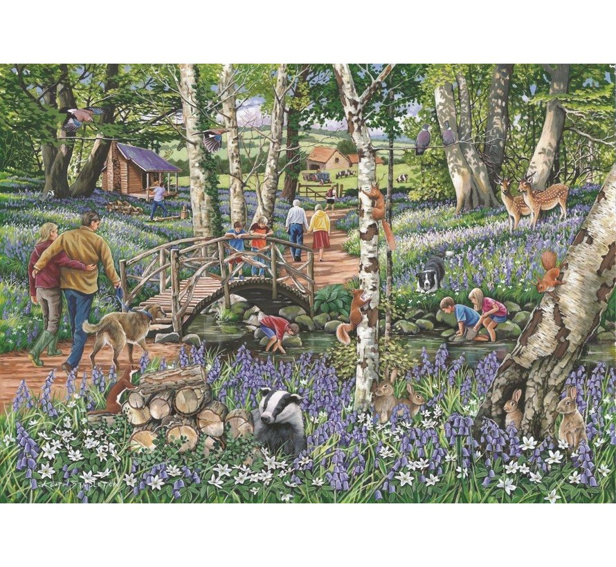 No.18 - Walk in the Woods 1000 Puzzle Pieces