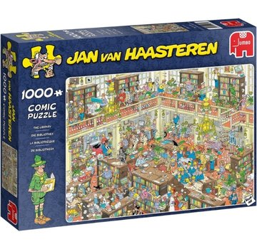 Jumbo Jan van Haasteren – The Library  Puzzle 1000 Pieces