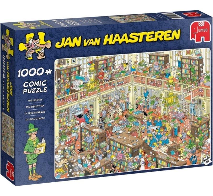 Jan van Haasteren – The Library  Puzzle 1000 Pieces