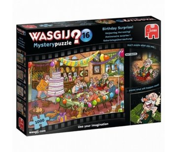 Jumbo Wasgij Mystery 16 Birthday Surprise Puzzle 1000 Pieces