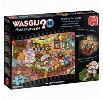 Jumbo Mystère Wasgij 16ème anniversaire Surprise Puzzle 1000 pièces