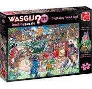 Jumbo Wasgij Destiny 21 Highway Hold-Up Puzzle 1000 Pieces