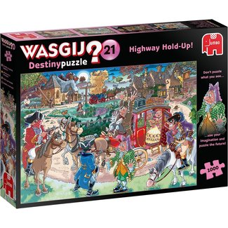 Jumbo Wasgij Destiny Highway 21 Hold Up Puzzle 1000 pieces