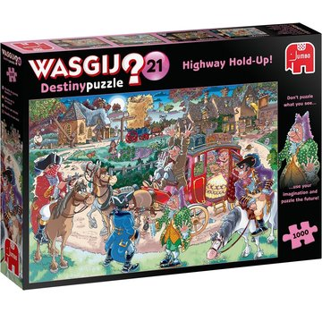 Jumbo Wasgij Destiny 21 Highway Hold-Up Puzzel 1000 stukjes