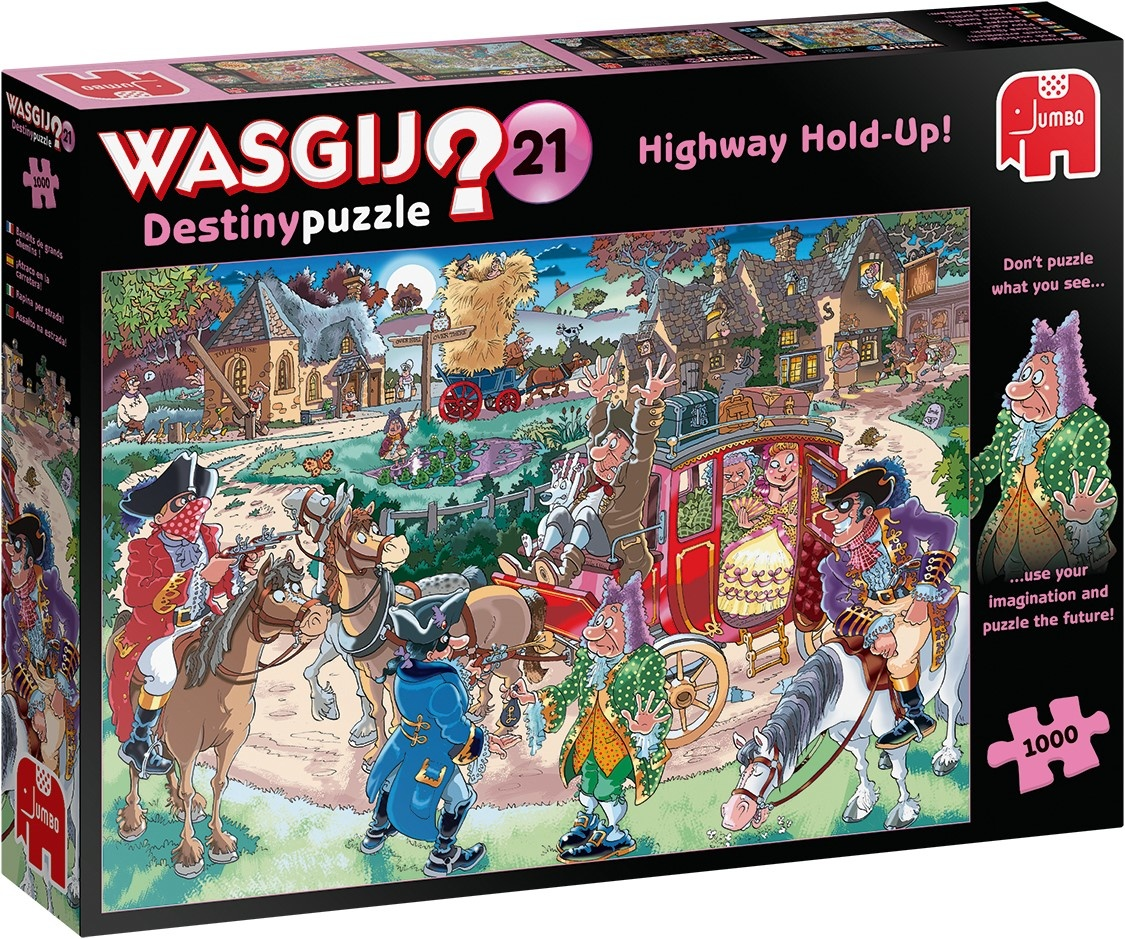 Wasgij Destiny Highway 21 Hold Up Puzzle 1000 Pieces - Jumbo