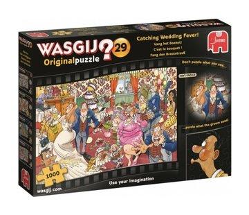 Jumbo Wasgij Original 29 Catch the Bouquet Puzzle 1000 pieces