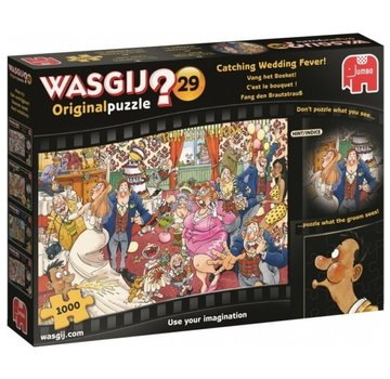 Jumbo Wasgij Original 29 Catch the Bouquet Puzzle 1000 pieces
