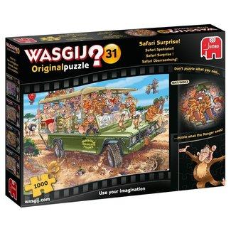 Jumbo Wasgij Original 31 Safari Spectacle Puzzle 1000 pieces