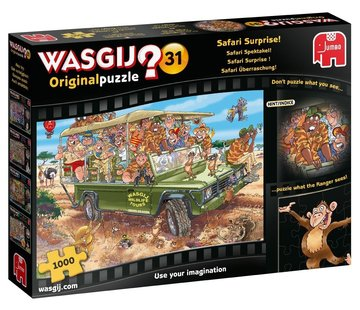 Jumbo Wasgij Original 31 Safari Surprise Puzzle 1000 Pieces