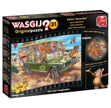 Jumbo Wasgij Original 31 Safari Spectacle Puzzle 1000 pieces