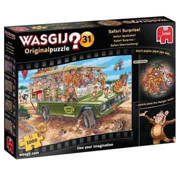 Jumbo Wasgij Original 31 Safari Surprise Puzzle 1000 Pieces